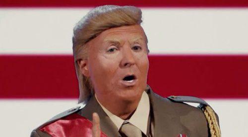 """'Late Motiv': Donald Trump es parodiado por Raúl Pérez y canta el """"Chic para ti, chic para mí"""""""