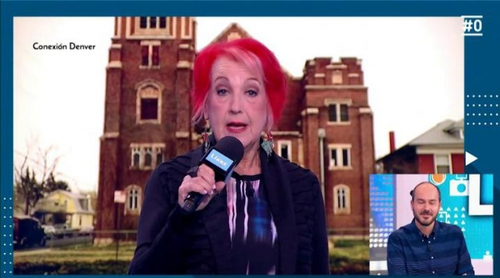 'Likes': Rosa María Calaf vuelve a ser corresponsal desde una iglesia de marihuana