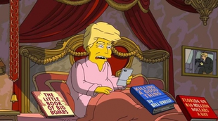 """'Los Simpson' hacen balance de los primeros 100 días de Donald Trump en el poder: """"Esto es horrible"""""""