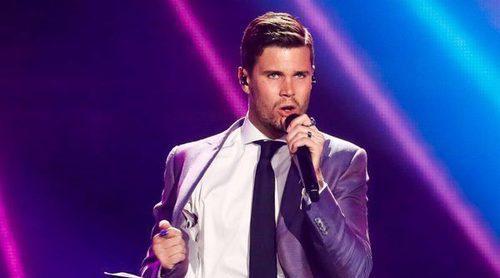 """Eurovisión 2017: Primer ensayo de Robin Bengtsson (Suecia) cantando """"I Can't go on"""""""