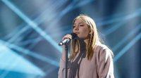 """Eurovisión 2017: Primer ensayo de Blanche (Bélgica) cantando """"City Lights"""""""