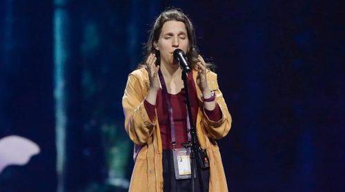 """Eurovisión 2017: Primer ensayo de Portugal con Luisa Sobral cantando """"Amar Pelos Dois"""""""