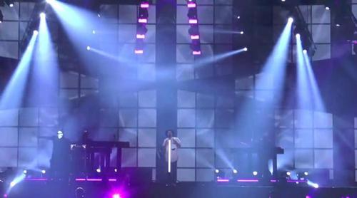 """Eurovisión 2017: Primer ensayo de Jowst & Aleksander Walmann (Noruega) cantando """"Grab the Moment"""""""