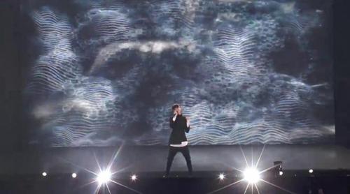 """Eurovisión 2017: Primer ensayo de Kristian Kostov (Bulgaria) cantando """"Beautiful Mess"""""""