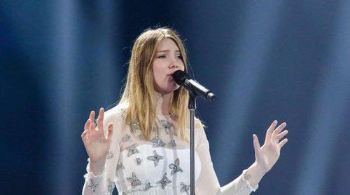 """Eurovisión 2017: Segundo ensayo de Blanche (Bélgica) cantando """"City Lights"""""""