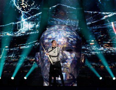 """Eurovisión 2017: Primer ensayo de O. Torvald (Ucrania) cantando """"Time"""""""