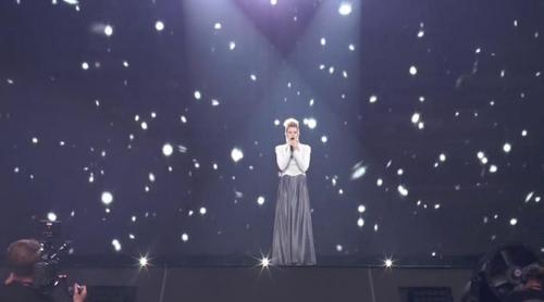 """Eurovisión 2017: Primer ensayo de Levina (Alemania) cantando """"Perfect Life"""""""