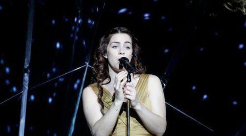 """Eurovisión 2017: Primer ensayo de Lucie Jones (Reino Unido) cantando """"Never Give Up On You"""""""