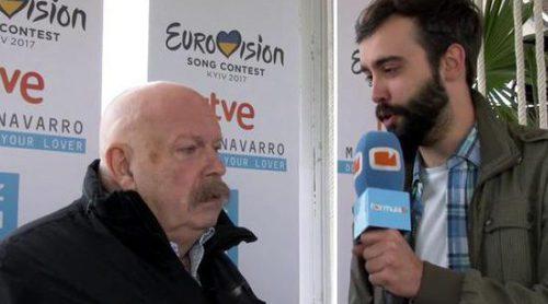 """José María Íñigo: """"La gente cree que Eurovisión es casposo porque no lo ha visto"""""""
