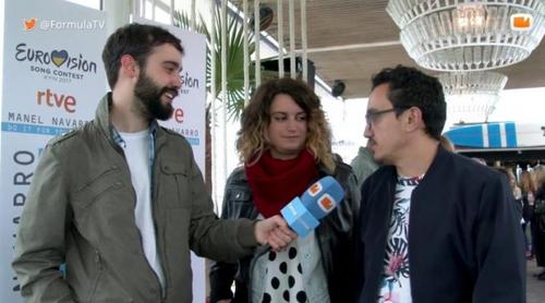 """César Vallejo y Paloma G. Quirós (Eurovisión 2017): """"Es el año que se va a hacer una mayor cobertura web"""""""