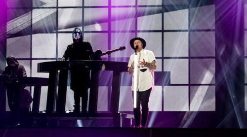 """Eurovisión 2017: Segundo ensayo de Jowst & Aleksander Walmann (Noruega) cantando """"Grab the Moment"""""""