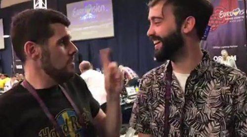 Eurovisión Diaries en directo: Te desvelamos todos los secretos del centro de prensa de Kiev