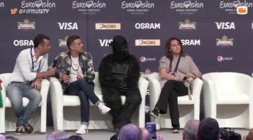 Eurovisión 2017: Rueda de prensa completa de Francesco Gabbani (Italia) en Eurovisión 2017