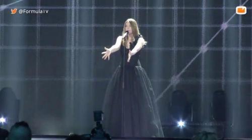 Eurovisión 2017: Primer ensayo con vestuario de Blanche (Bélgica) para la semifinal