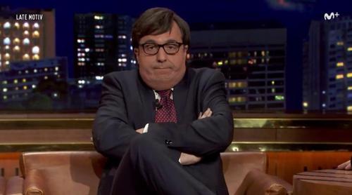 'Late Motiv': Un hilarante Francisco Marhuenda, nueva parodia de Raúl Pérez en el programa de Buenafuente