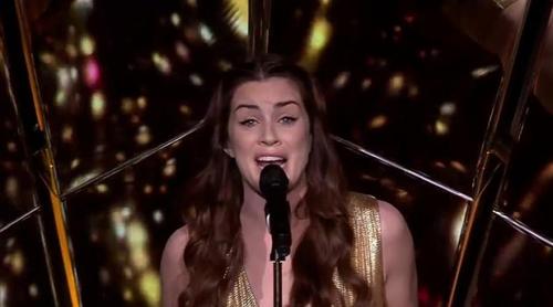 """Eurovisión 2017: Realización final de Lucie Jones (Reino Unido): """"Never Give Up On You"""""""