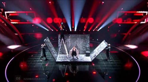 """Eurovisión 2017: Dihaj (Azerbaiyán) canta """"Skeletons"""" en el Festival"""