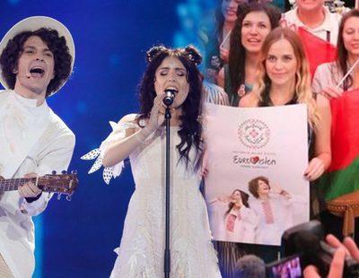 Eurovisión 2017: Así reacciona la zona de prensa a la actuación de Bielorrusia en la segunda semifinal