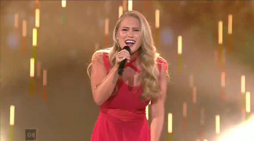 """Eurovisión 2017: Anja (Dinamarca) canta """"Where I Am"""" en el Festival"""