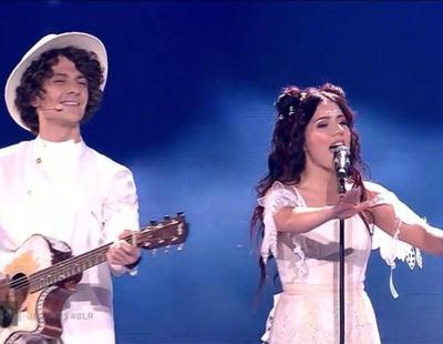 "Eurovisión 2017: Naviband (Bielorrusia) cantan ""Story of my Life"" en el Festival"