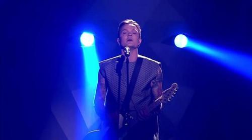 """Eurovisión 2017: O.Torvald (Ucrania) canta """"Time"""" en el Festival"""