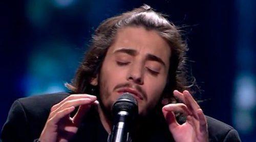 """Eurovisión 2017: Salvador Sobral canta """"Amar Pelos Dois"""" en el Dress Rehearsal de la final"""