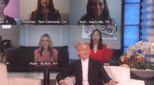 'The Ellen DeGeneres Show': La presentadora sorprende a un grupo de madres primerizas