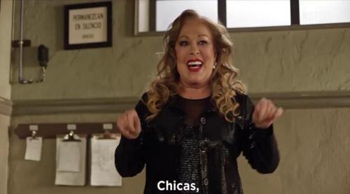 Ruth Lorenzo, Soraya, Rosa, Edurne, Massiel y Mirela en 'Las Chicas del Cable' por Eurovisión 2017