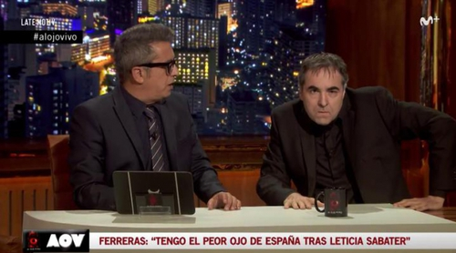 'Late motiv': Raúl Pérez parodia a Antonio García Ferreras ('Al rojo vivo') con su 'Al ojo vivo'