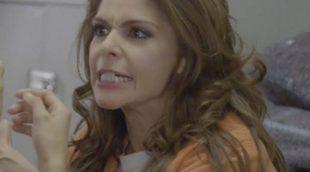'Orange is the New Black': Soraya Montenegro (Itatí Cantoral) regresa a la cárcel y recrea su mítica escena