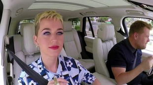 'Carpool Karaoke': Katy Perry canta sus grandes éxitos junto a James Corden