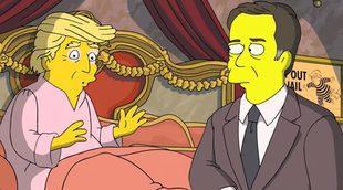 'Los Simpson': Los asistentes de Trump se ahorcan por no aguantar la presión en una parodia de la serie