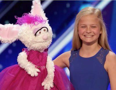 'America's Got Talent': La increíble actuación de una niña ventrílocua que deja boquiabierto a todo el plató