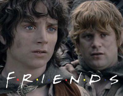 """'Friends': La mítica cabecera de la serie parodiada con """"El Señor de los anillos"""""""
