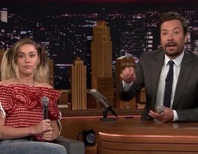 Google Translate traduce a Miley Cyrus cantando en 'The Tonight Show Starring Jimmy Fallon'