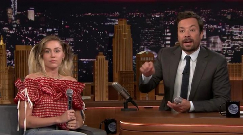 Google Translate traduce a Miley Cyrus cantando en 'The Tonight Show Starring Jimmy Fallon'