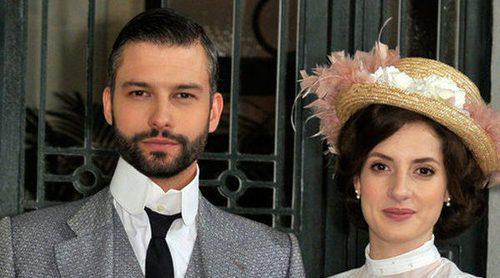 Marc Parejo e Inés Aldea ('Acacias 38'):