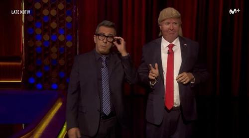 'Late Motiv': Donald Trump también cree que el batido de chocolate sale de vacas marrones