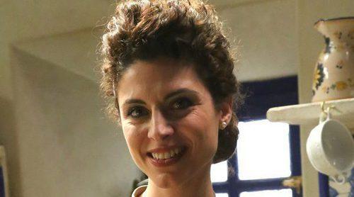 """Cayetana Cabezas ('El secreto de Puente Viejo'): """"Te ves muy recogida cuando llega a tus manos un buen guion"""""""