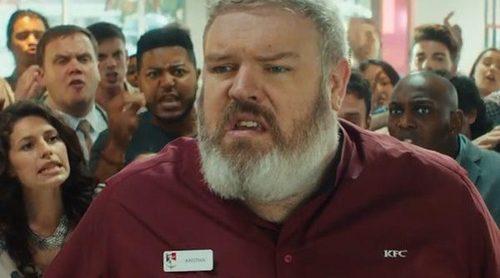 Kristian Nairn (Hodor en 'Juego de Tronos') protagoniza un divertido spot de KFC