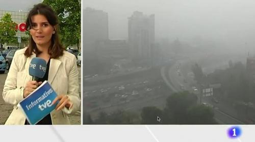 """Una reportera de TVE se fuga en directo tras equivocarse: """"Lo he hecho mal, joder"""""""