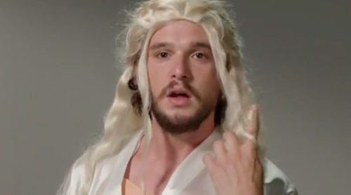 Kit Harington parodia a los personajes de 'Juego de Tronos' en un divertido casting en 'Jimmy Kimmel Live!'