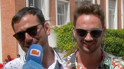 """Ismael Agudo y Pablo Wessling ('OT 2017'): """"Aún queda gente virgen en talent shows"""""""