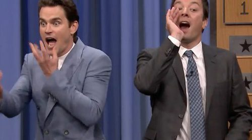 Matt Bomer y Jessica Biel juegan a la mímica en 'The Tonight Show' con Jimmy Fallon