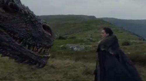 """'Juego de Tronos': Drogon y Jon Snow, cara a cara, en el nuevo avance del 7x05, """"Guardaoriente"""""""
