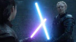 """'Juego de Tronos': Arya Stark vs Brienne y su asombroso crossover fan con """"Star Wars"""""""