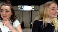 """'Juego de tronos': Sophie Turner y Maisie Williams imitan a Ned Stark en """"Carpool Karaoke"""""""