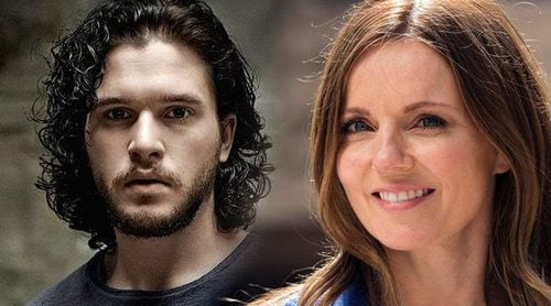 "Kit Harington ('Juego de Tronos') enseña a Geri Halliwell a ser la nueva Ygritte: ""You know nothing, Jon Snow"""