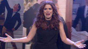 El elenco de 'Will & Grace' interpreta la sintonía de la cabecera durante el programa de Jimmy Fallon