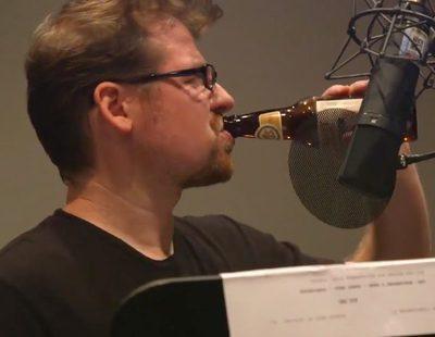 Justin Roiland, creador de 'Rick y Morty', se emborracha en la grabación del 3x04 de la serie